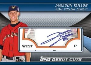 2011 Topps Pro Debut Cuts Jameson Taillon Autograph Card