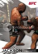 2010 Topps UFC Knockout Rampage Jackson Base Card