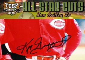 2011 Tri-City Sports Ken Griffey Jr. Diamond Cut All-Star Auto