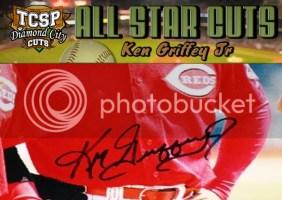 2011 Tri-City Sports Ken Griffey Jr. Diamond Cut All-Star Auto