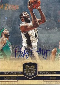 2009/10 Panini Court Kings DeJuan Blair Autograph RC Card