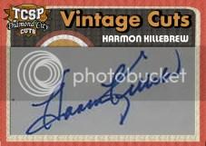 2011 Tri-City Sports PL Harmon Killebrew Cut Autograph