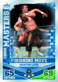 2010 Topps WWE Chris Masters Lock Finisher