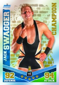 2010 WWE Slam Attax Mayhem Jack Swagger Champions