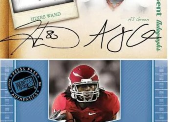 2011 Press Pass Legends AJ Green Autograph