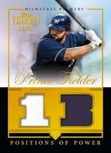 2012 Topps Tribute Prince Fielder Position of Power Jersey