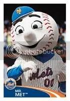 2012 Topps MLB Stickers Mr. Met