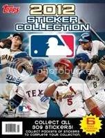 2012 Topps MLB Sticker Album