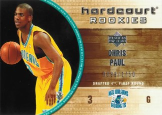 2005-06 Upper Deck Hardcourt Chris Paul #139 - #/1750