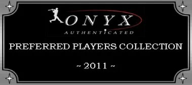2011 Onyx Preferred Players Collection Baseball Box