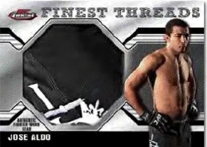 2011 Topps Finest UFC Jumbo Threads Jose Aldo Relic Card