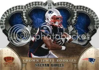 2011 Panini Crown Royale Jewel Stevan Ridley Rookie Card