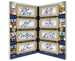 2011 Topps Supreme Eight Autograph Book Card