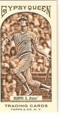2011 Gypsy Queen Sepia Dale Murphy #/99