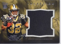 2011 Topps Inception Mark Ingram Jumbo Jersey Relic