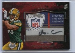 2011 Inception Football Alex Green Laundry Tag Autograph 1/1