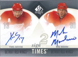 2010-11 Sign of the Times Dual Madano/Datsyuk
