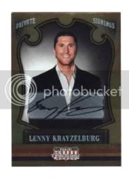 2011 Panini Americana Lenny Krayzelburg Autograph