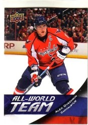 11-12 Upper Deck Alexander Ovechkin All World Sp
