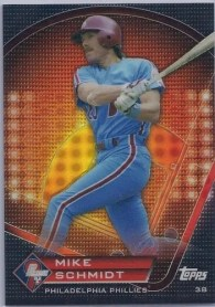 2011 Topps Prime 9 Mike Schmidt Card