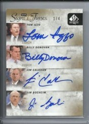2011-12 Sp Authentic Quad Autograph