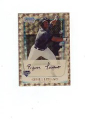 2011 Bowman Chrome Superfractor Rymer Liriano 1/1