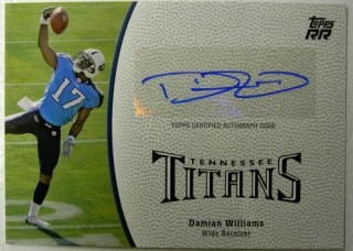 2011 Topps Rookie Rising Damian Williams Auto