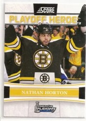 2011-12 Score Hockey Playoff Heroes Nathan Horton