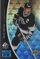 2010-11 Sp Authentic Wayne Gretzky Holo Foil FX