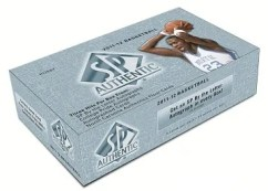 2011-12 UD Sp Authentic Basketball Hobby Box