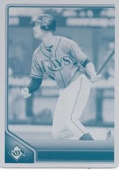 2011 Topps Lineage B.J. Upton Printing Plate 1/1