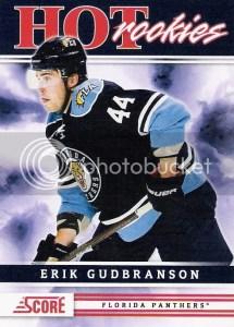 2011-12 Score Hot Rookies Sp Erik Gudbranson