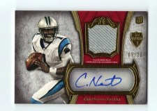 2011 Topps Supreme Cam Newton Rookie Autograph /20