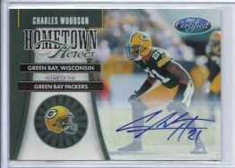 2011 Panini Certified Charles Woodson Hometown Heroes Autograph