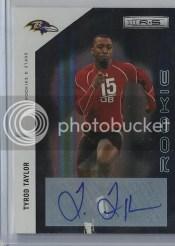 2011 Rookies & Stars Tyrod Taylro Autograph Rookie RC