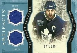2011-12 UD Artifacts Treasured Swatches Doug Gilmour