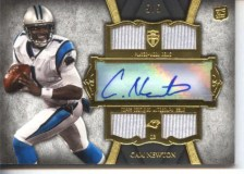 2011 Topps Supreme Cam Newton Rookie Autograph /5