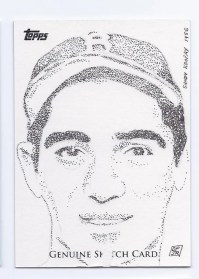 2011 Topps Sketch Card Sandy Koufax