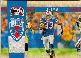 2011 Panini Threads Lee Evans Gridiron Kings Jersey Card