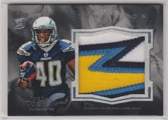 2011 Topps Inception Rookie Jumbo Patch Jordan Todman
