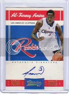 2010-11 Panini Classics Basketball Al Farouq Aminu Autograph RC #341/699
