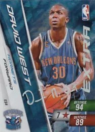 Adrenalyn Special David West Card