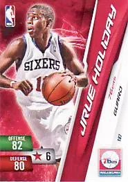 10-11 Jrue Holiday 76ers Panini Adrenalyn Code