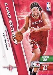 Luis Scola Adrenalyn Card