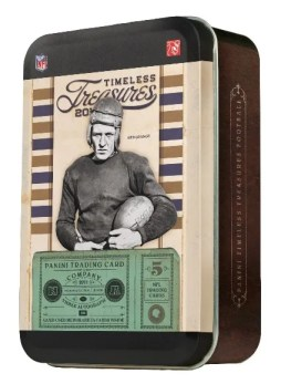 2011 Panini Timeless Treasures Football Tin