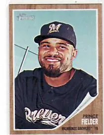 2011 Topps Heritage Prince Fielder SP #445