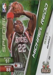2010-11 Adrenalyn Michael Redd Special Card