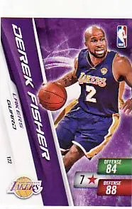 2010-11 Adrenalyn NBA Series 2 Derek Fisher Lakers Free Code