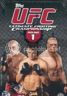2009 Topps UFC Round 1 Hobby Box