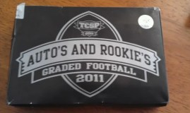 2011 Tri-City Sports Auto's and Rookies Football Box